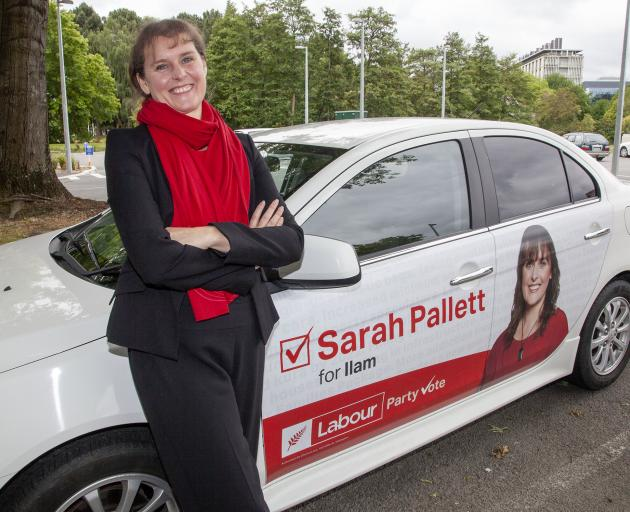Sarah Pallett. Photo: Geoff Sloan