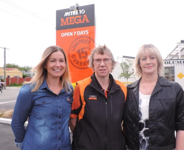 The Cancer Society Relay for Life will return to Oamaru next year. Involved are (from left) Relay...