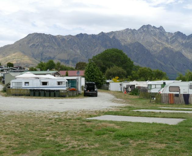 The motor camp would become a construction site from Friday, with access granted only by...