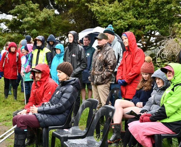 About 40 people attended the official opening of the Oreti Totara Dune Forest near Invercargill...
