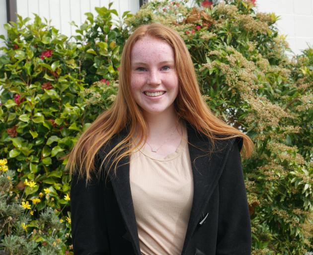 Bayfield High School pupil Josephine Tarasiewicz (16) will attend the University of Otago's Hands...