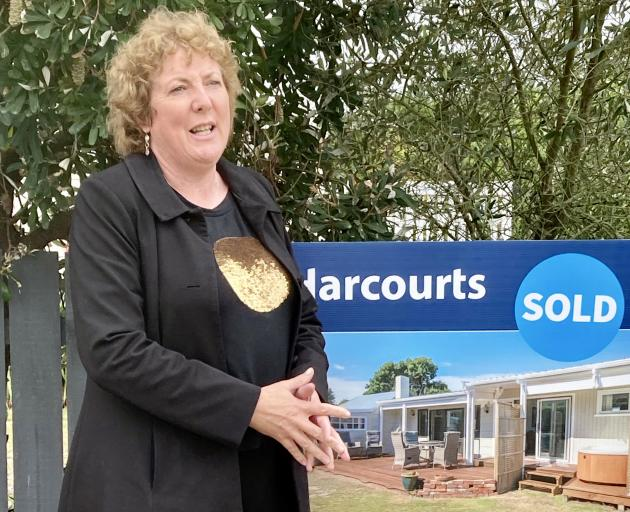Waikuku Beach-based real estate agent Lisa Tippen. Photo: Chris Barclay