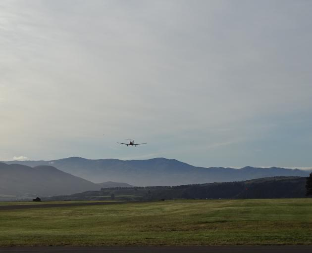 The Sounds Air Wanaka to Christchurch service's maiden flight. Photo: Kerrie Waterworth
