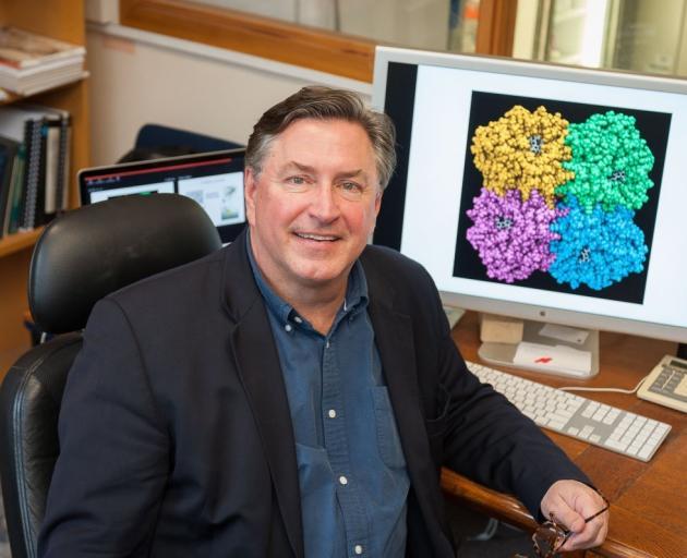University of Otago biochemist Prof Kurt Krause. PHOTO: SUPPLIED