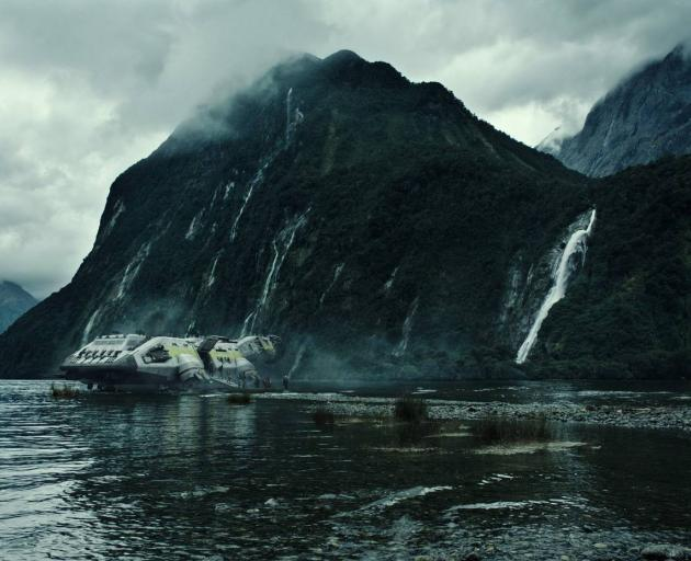 Still from Alien: Covenant which filmed in Fiordland. Photo: Supplied