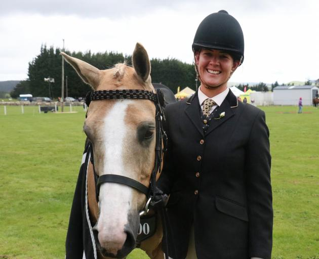 Alittle Dream and his rider Harriet Luxton, of Riverdale, won the champion novice and champion...