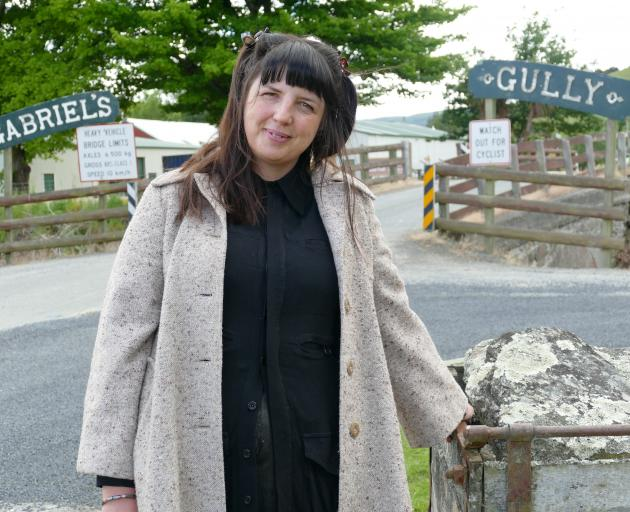 New Tuapeka-Lawrence Community Company community, events and tourism co-ordinator Rachel Taylor...