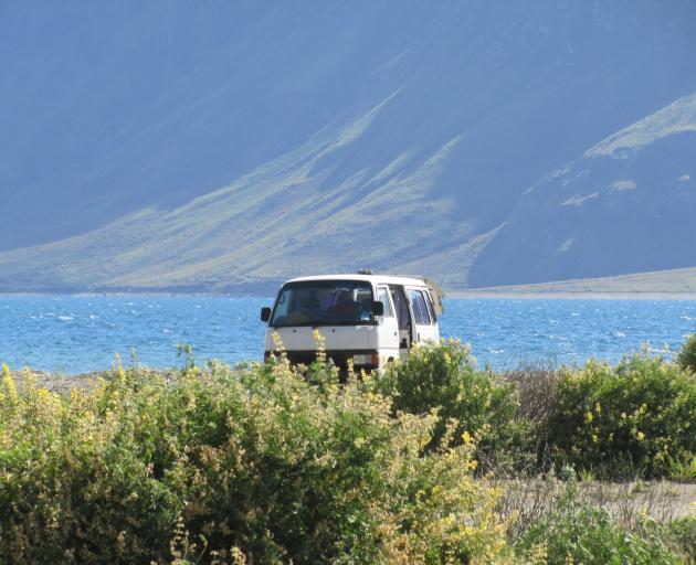 Fewer freedom campers have received infringement notices, councils say. PHOTO: ODT FILES