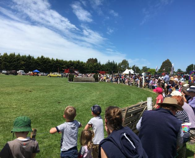 A big crowd gathered on a fine, sunny day at the Kirwee Showgrounds for the 145th annual...