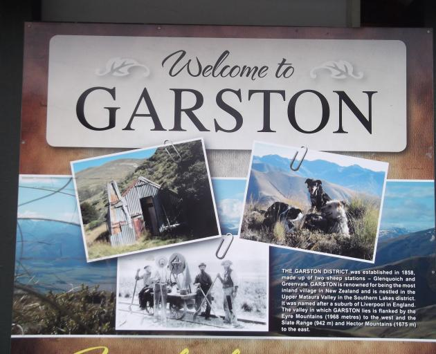Garston welcomes.