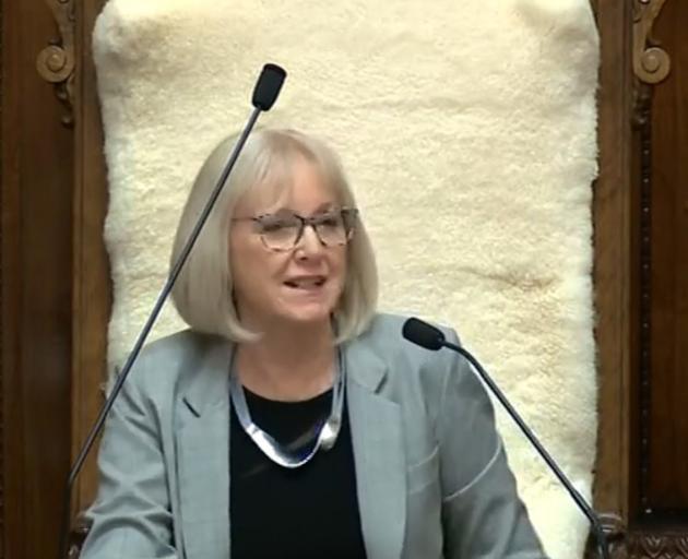 Waitaki MP Jacqui Dean begins her new job as  assistant Speaker.