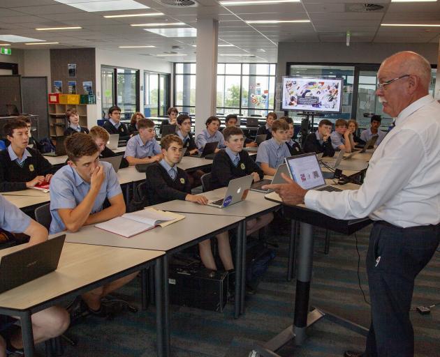Career-long teacher Steve Garland ends his 42-year long tenure at Shirley Boys' High School next...