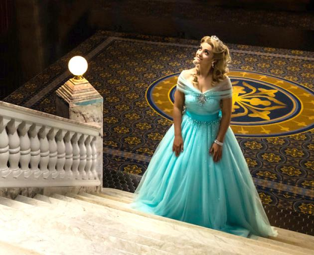 What Now television presenter Erin Wells stars as Cinderella in a Christchurch-angled pantomime...