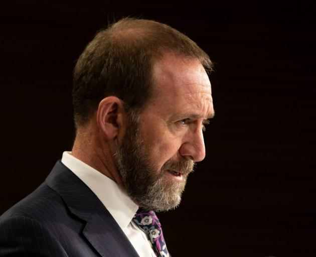 Justice Minister Andrew Little says a referendum had never been raised with him in extensive...