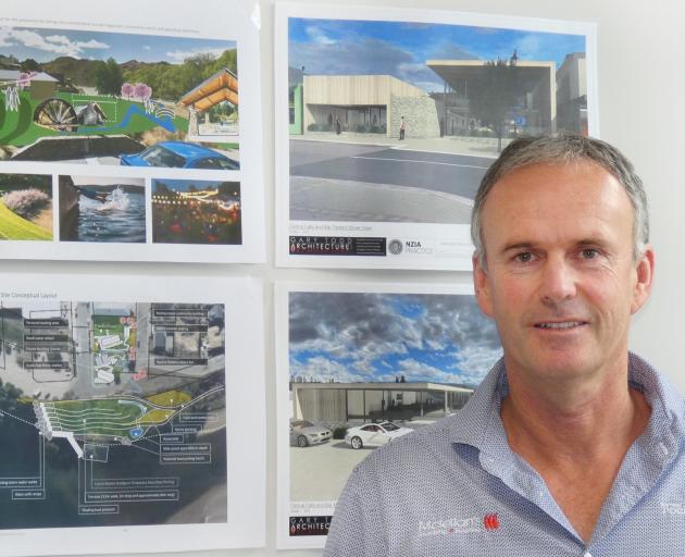 Alexandra businessman Rory McLellan believes his  plans will reinvigorate the town's  CBD. PHOTO:...