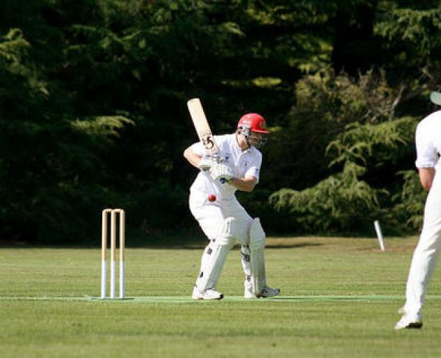 Weedon cricket club chairman Paul Rugg still turns out for the premier grade side, when required....