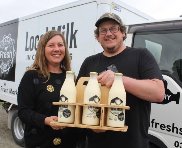Farm Fresh South owners Melissa and Logan Johnson, of Woodlands, have launched their second...