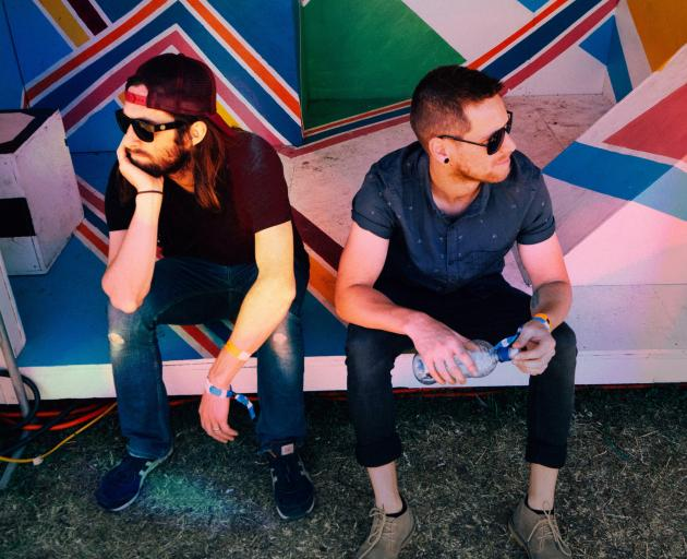 Dunedin band Black Boy Peaches, led by Tom (left) and Hamish Mepham, are venturing into Boosted...