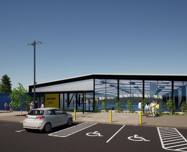 An artist's impression of the new Mosgiel Pool. IMAGE: MCCOY AND WIXON ARCHITECTS