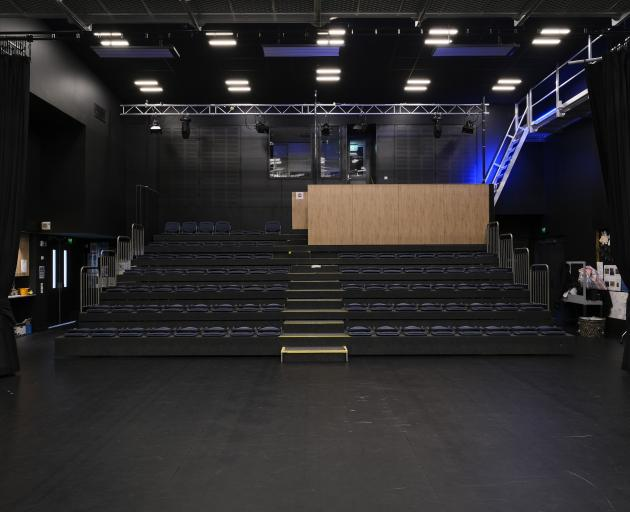 The main performance space.
