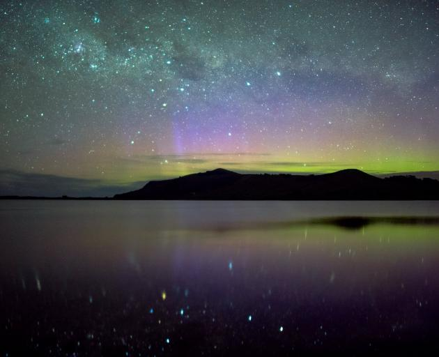 The night sky is teeming with colour if you are prepared to look for it. PHOTO: IAN GRIFFIN