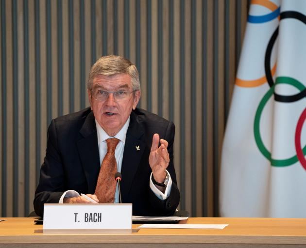 International Olympic Committee president Thomas Bach seems determined ...
