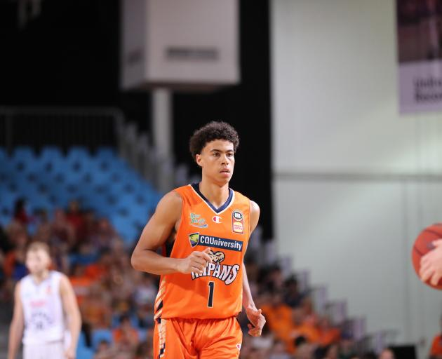 Next star? Dunedin-born NBA hopeful Mojave King in action for the Cairns Taipans during an...