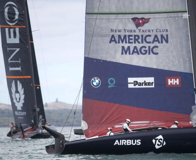 American Magic is back on the water. Photo: Getty Images