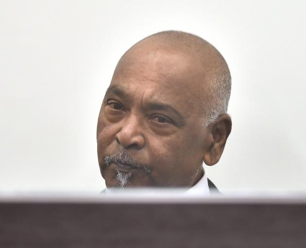 Edward Anand (72) could be in prison until 2029 if he serves his entire sentence. PHOTO: ODT FILES