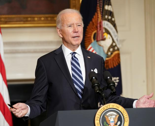 Joe Biden says building a modern and resilient climate-related infrastructure and a clean energy...