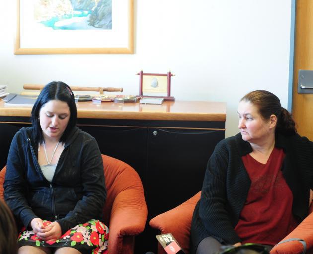 Michael Hutchings' sister Sarah and mother Lynn spoke at ...