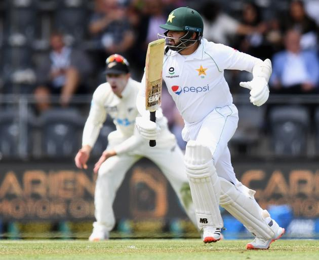 Pakistan's Azhar Ali batted well before being dismissed for 93. Photo: Getty Images
