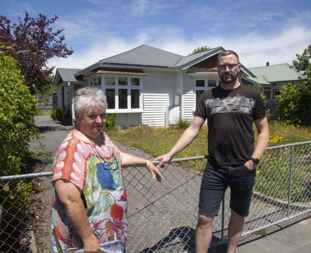 June Peka and Brad Nolan are concerned old houses like the one pictured could be demolished to...