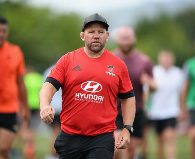 After recovering from a serious case of Covid-19, Crusaders assistant coach Jason Ryan is back in...