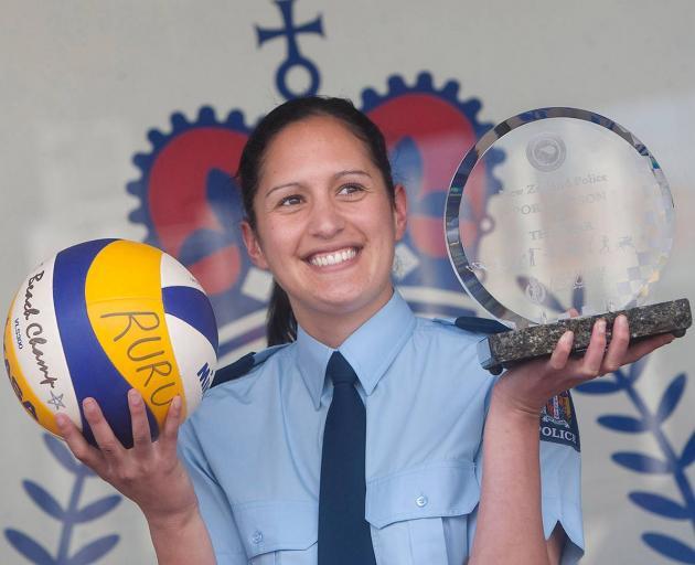 Detective Constable Melissa-Mae Ruru won the New Zealand Police Association Police Sportsperson...