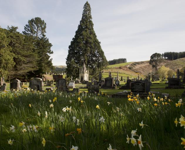 The West Taieri Cemetery. Photo: Gerard O'Brien