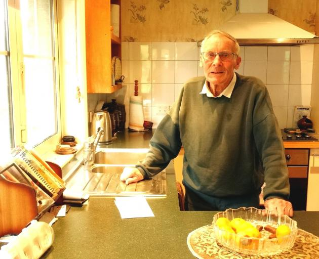 Duncan Robertson, who turns 100 today, at his home in Speargrass Flat, near Queenstown. PHOTO:...