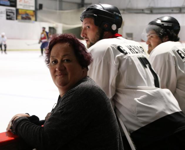 Tania Henare, who organised a memorial ice hockey game for her daughter Nicola — who died in a...