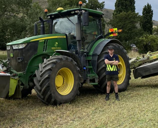 Lincoln University student Andrew Bateup, pictured near Hawea Flat, is pleased he came down to...