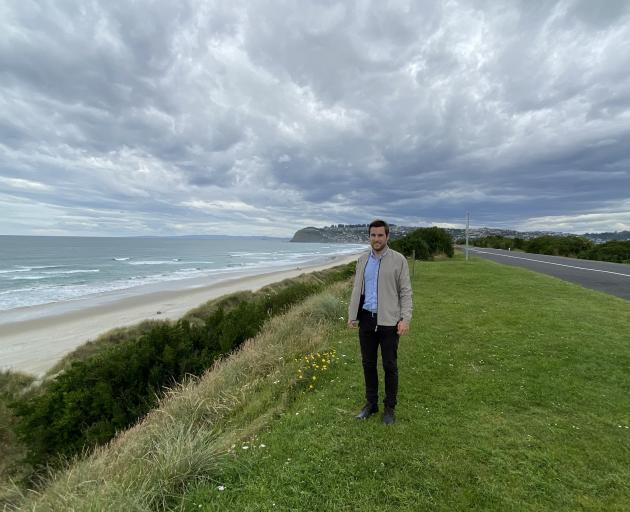 Dunedin City Council 3 Waters coastal specialist Tom Simons-Smith is leading the team planning...