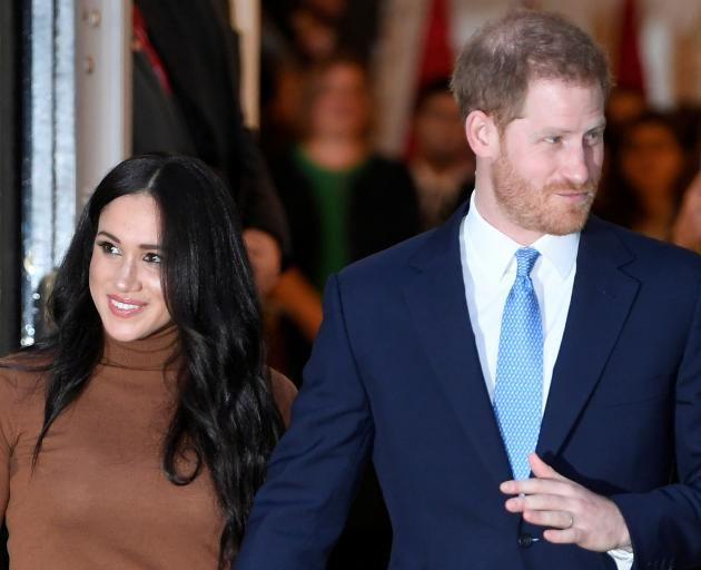 Meghan and Harry are now living in Southern California after stepping down from their duties as...