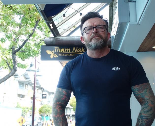 Fishbone owner Darren Lovell. PHOTO: GUY WILLIAMS