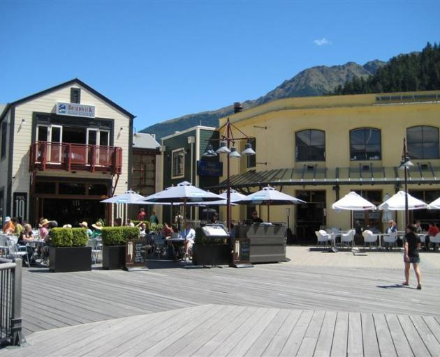 A view of the Steamer Wharf complex in Queenstown. Photo by ODT.