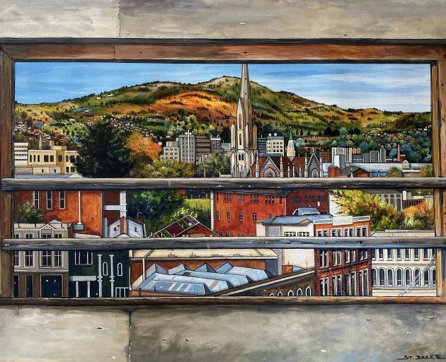 Cityscape, by Jo St Baker