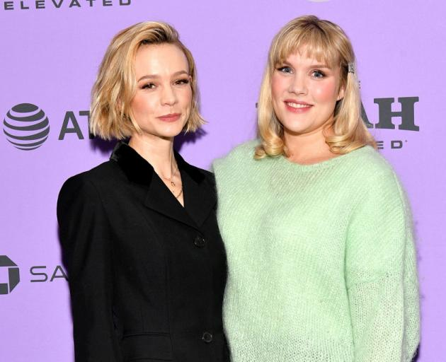 Carey Mulligan (right) and Emerald Fennell are both nominated for their work on the film Promising Young Woman. Photo: Getty Images