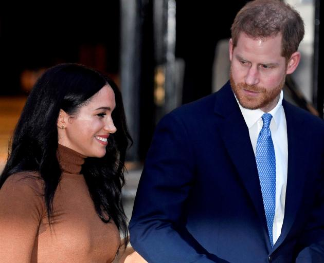 Harry and Meghan married in 2018 but later gave up their official royal roles after disagreements...