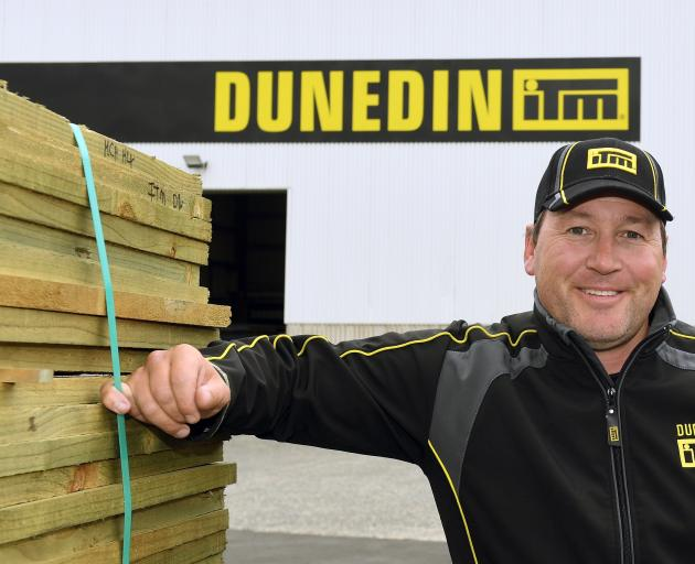 Jon Conley is preparing to open his ITM Dunedin store early next month. PHOTO: STEPHEN JAQUIERY