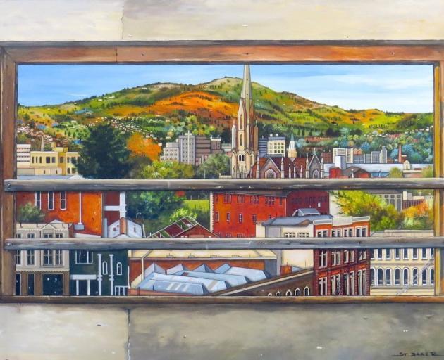 City Scape, by Jo St Baker