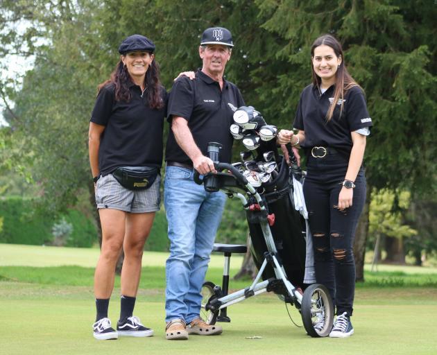 Kara Roderick-Wandless (left), her father Nobby Roderick and daughter Tayla Roderick-Wandless (18...
