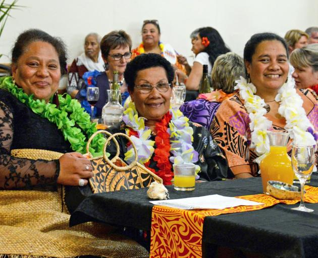 Pacific Islanders who travelled to take part in the group's 30th anniversary celebrations in 2019...